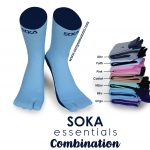 kaos kaki soka essentials Combination polos