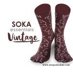 Kaos kaki Soka Essential Vintage