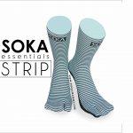 Kaos Kaki Soka ESSENTIALS STRIPE, digunakan untuk Tetap Trendy Dan Modis