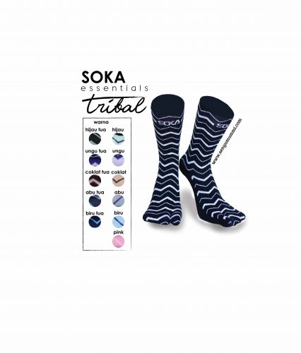 kaos kaki soka essentials tribal