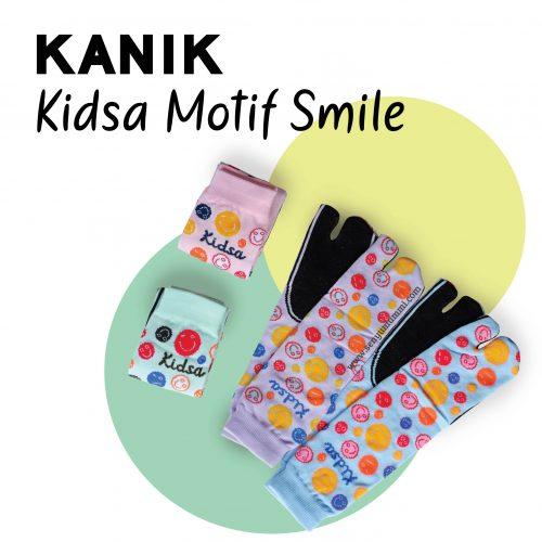 Kanik kidsa motif smile