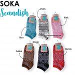 Kaos Kaki Soka Scandish dengan Banyak Pilihan Warna