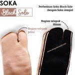 Kaos Kaki Soka Black Sole dengan Harga Terjangkau