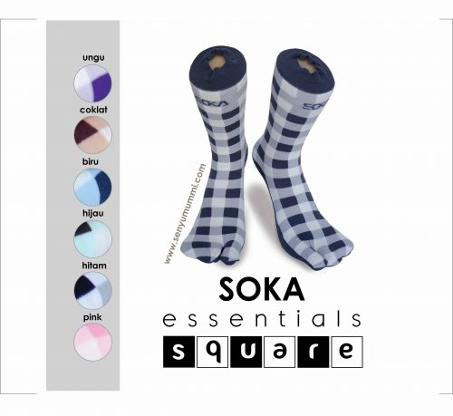 kaos kaki soka essentials square