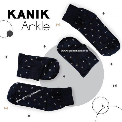 kanik ankle warna hitam