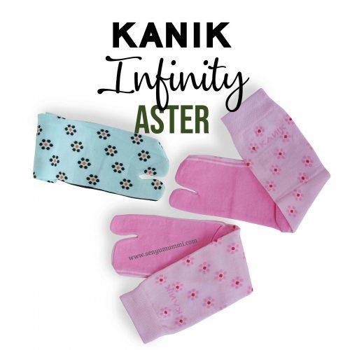 Detail Kaos kaki infinity aster