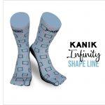 Kanik Infinity Shape Line, Unik Banget! Ini Dia Kaos Kaki Unik dari Kanik