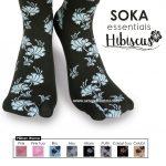 Soka Essentials Hibiscus, Kaos Kaki Motif Bunga Sepatu dengan Harga Terjangkau
