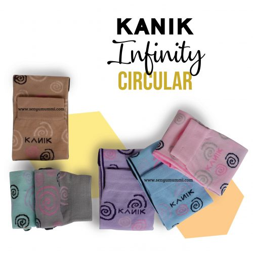 kaos kaki infinity circular