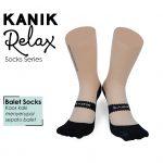 Dijamin Beda! Ini Dia Kaos Kaki Unik dari Kanik Relax Balet Socks