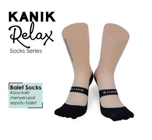 kaos kaki kanik relax balet