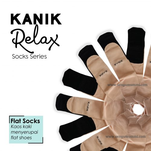 kaos kaki relax flats socks