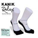 Ingin Tampil Syar'i? Kanik Relax Flats Socks Solusinya